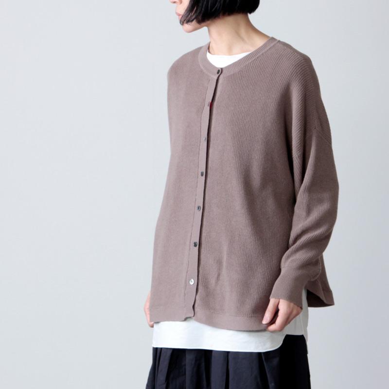 mao made(マオメイド) コットンレイヤードプルオーバー