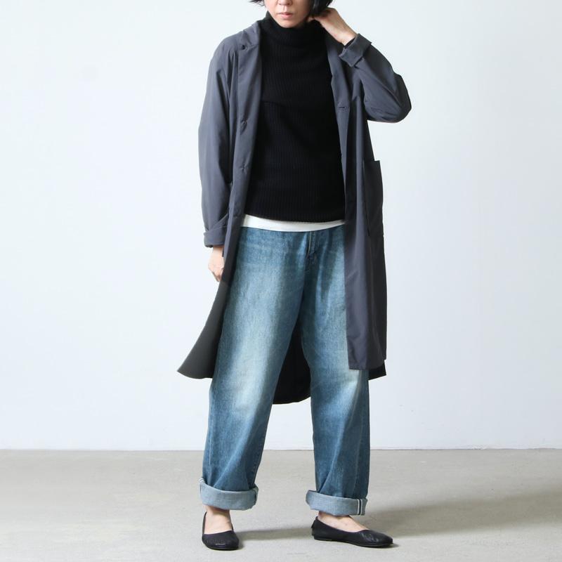 mao made(マオメイド) コットンワッフルニットタートル