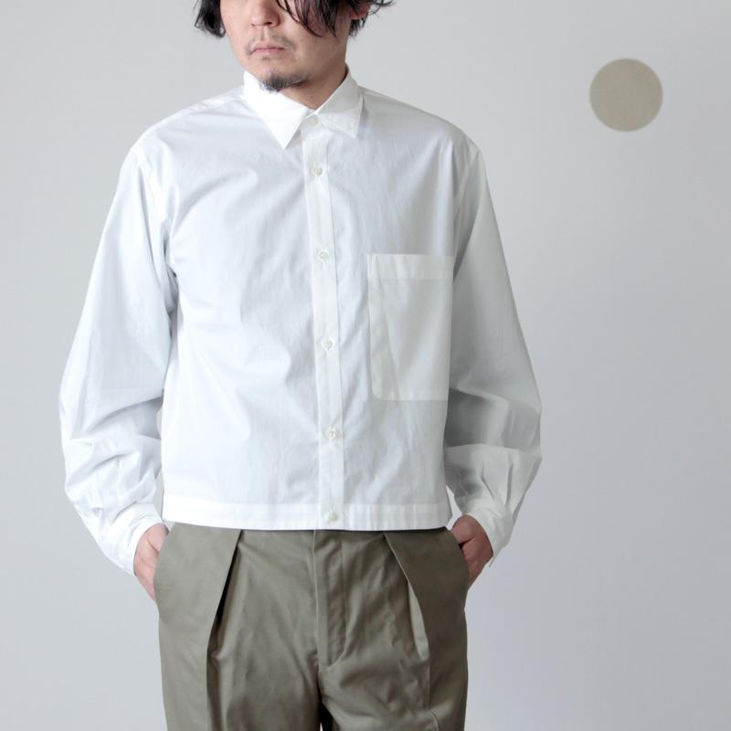 MARKAWARE (マーカウェア) SHORT SHIRT / ショートシャツ