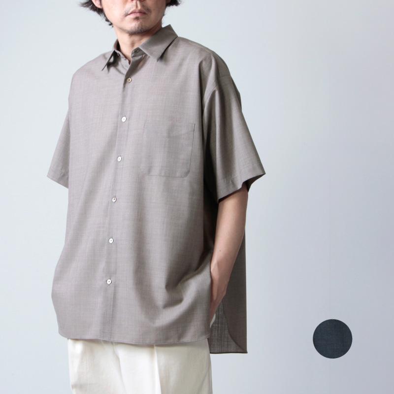 MARKAWARE (マーカウェア) COMFORT FIT SHIRT S/S / コンフォートフィットシャツ ショートスリーブ
