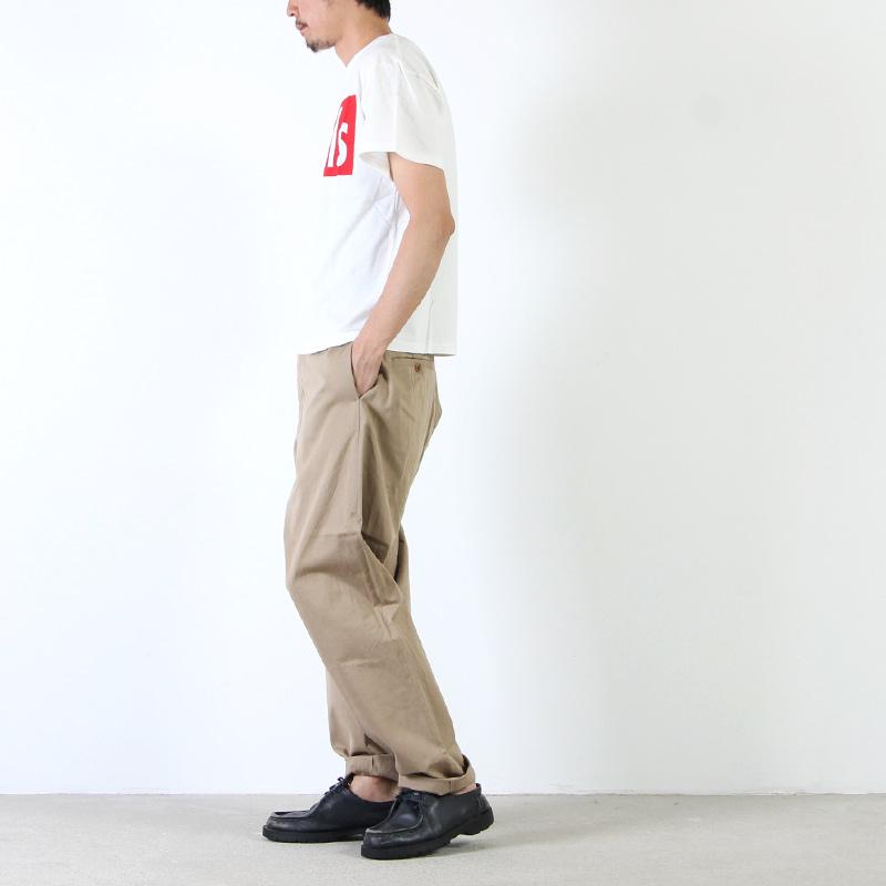MASTER & Co.(マスターアンドコー) DEPARTURE T-shirt