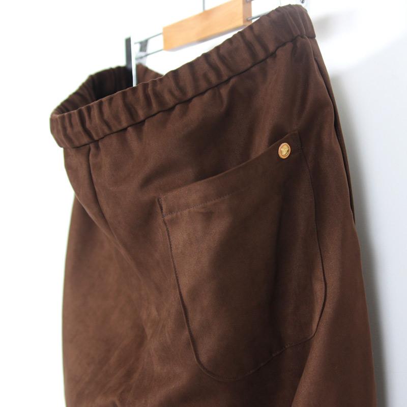 MASTER & Co.(マスターアンドコー) WASHABLE SUEDE LONG PANTS sizeXS
