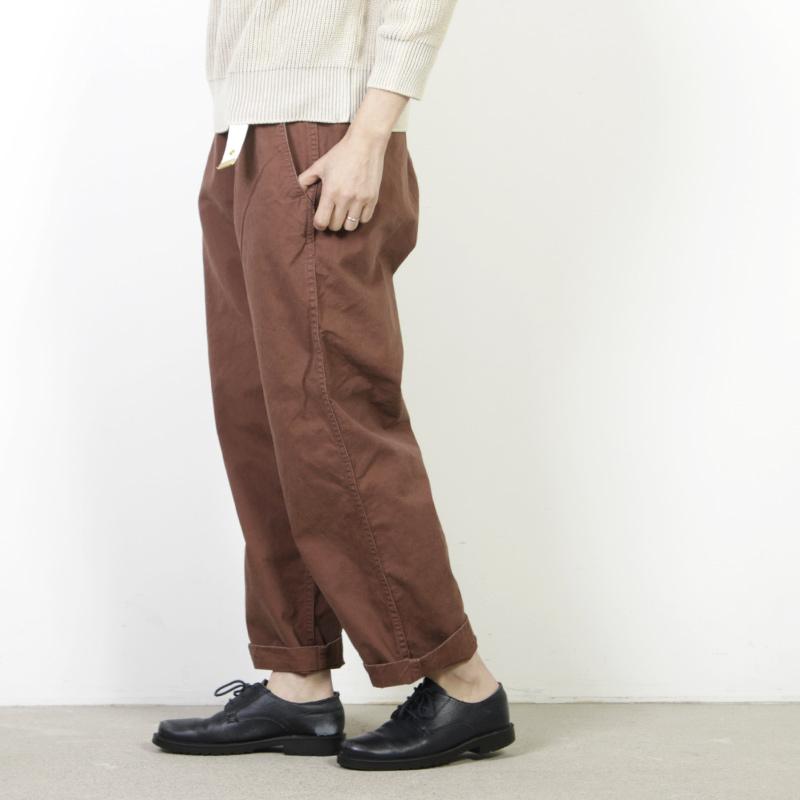 MASTER & Co.(マスターアンドコー) Long Chino パンツ with BELT size:XS