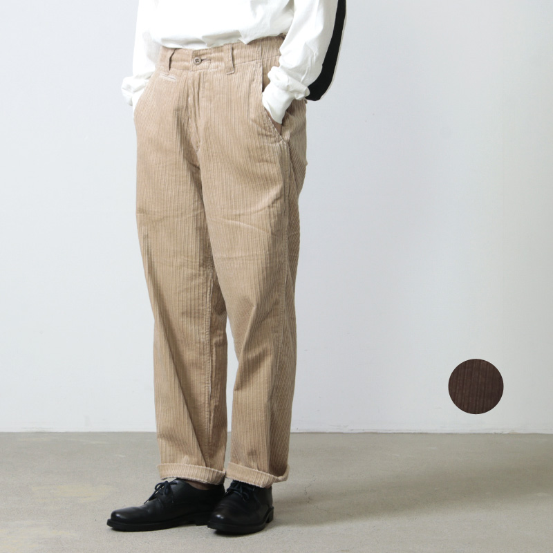 MASTER & Co. (マスターアンドコー) LONG PANTS CORDUROY size:XS / ロングパンツ コーデュロイ サイズXS