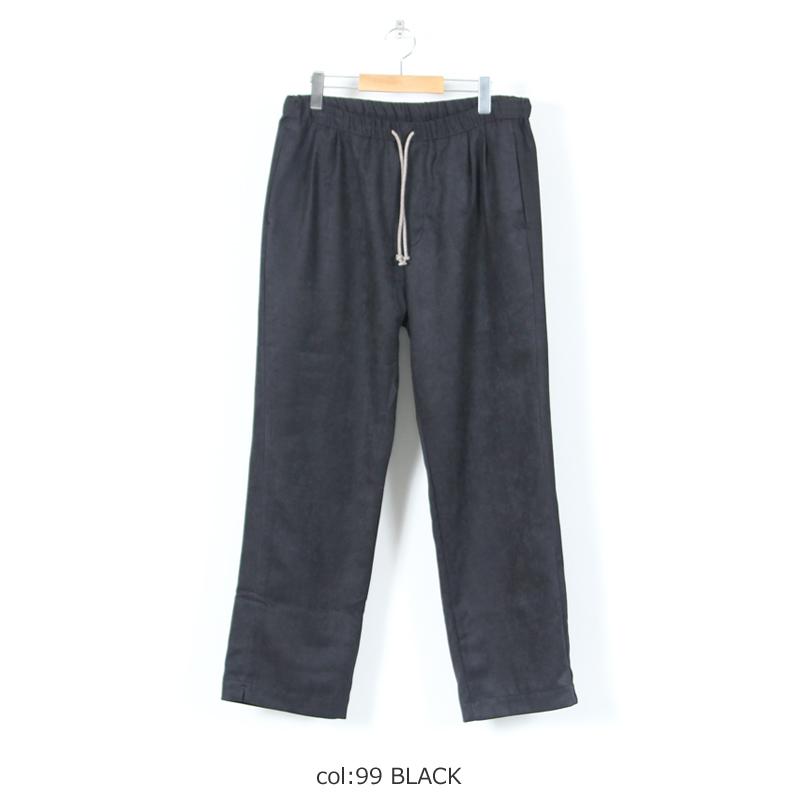 MASTER & Co.(マスターアンドコー) WASHABLE SUEDE LONG PANTS sizeS , M