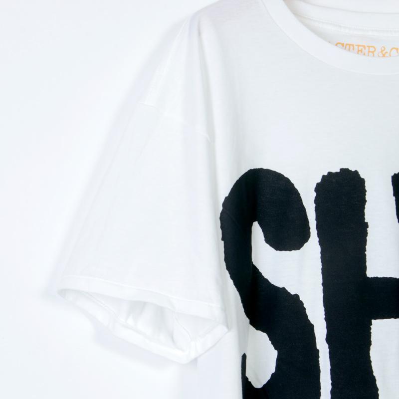 MASTER & Co.(マスターアンドコー) 別注 AIRPORT LOGO T-shirt SHM