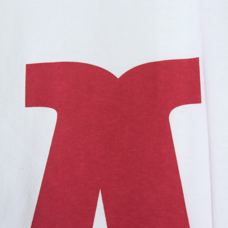 MASTER & Co.(マスターアンドコー) ALPHABET PRINT T-SHIRT