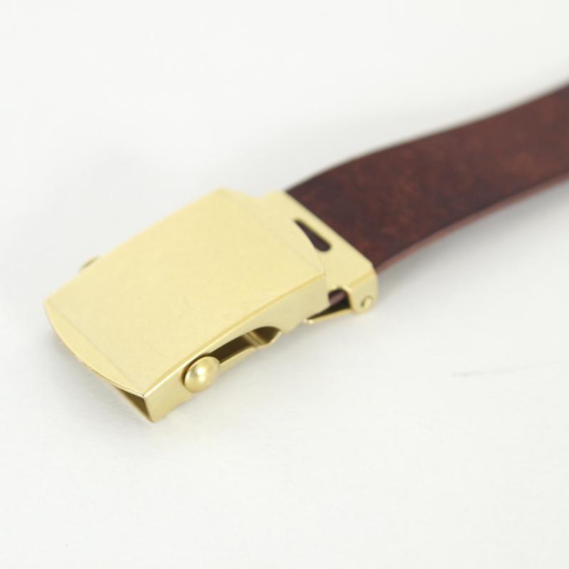 MASTER & Co.(マスターアンドコー) PUEBLO LEATHER 24mm GACHA BELT