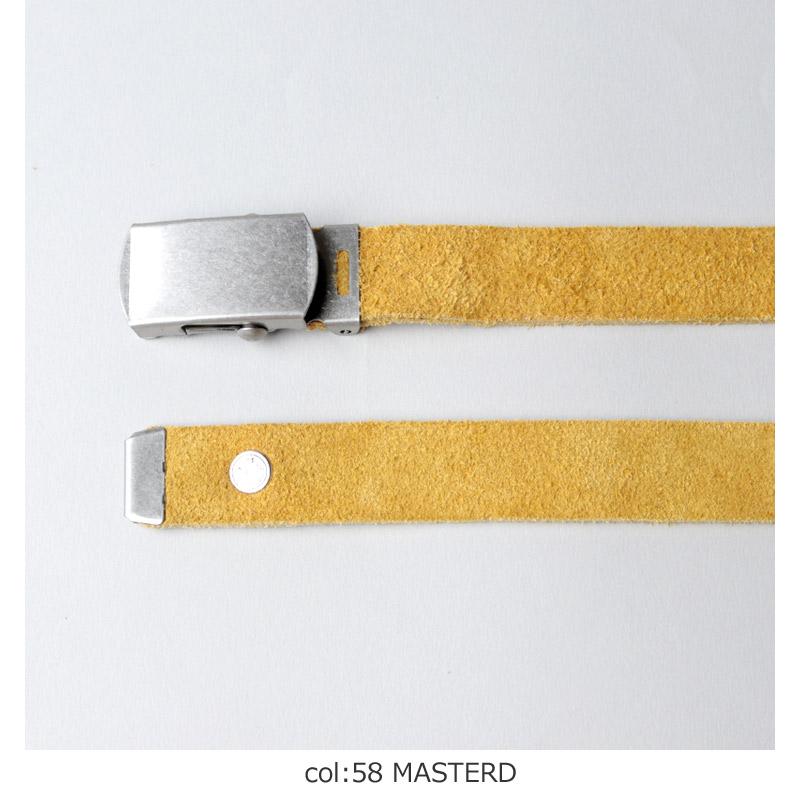 MASTER & Co.(マスターアンドコー) VELOUR COLOURS ガチャベルト