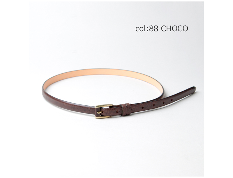MASTER & Co.(マスターアンドコー) SADDLE PULL UP LEATHER× CROCO EMBOSSED BELT
