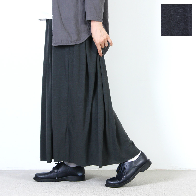 MidiUmi (ミディウミ) ギャザーロングスカート