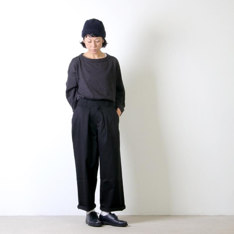 MidiUmi(ミディウミ) タックチノパンツ