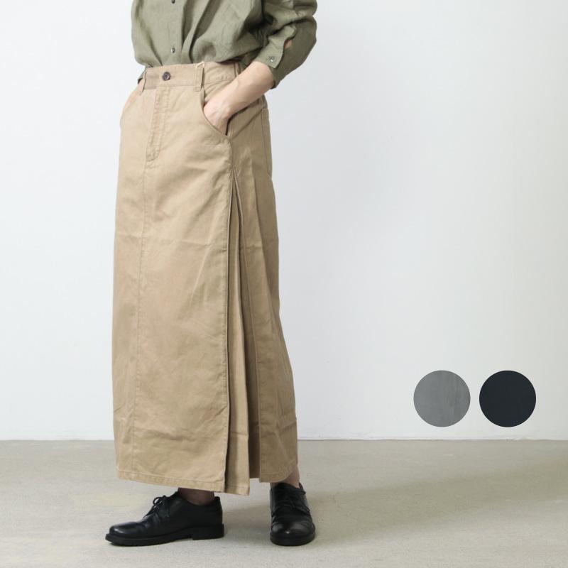 MidiUmi (ミディウミ) サイドフレアロングスカート