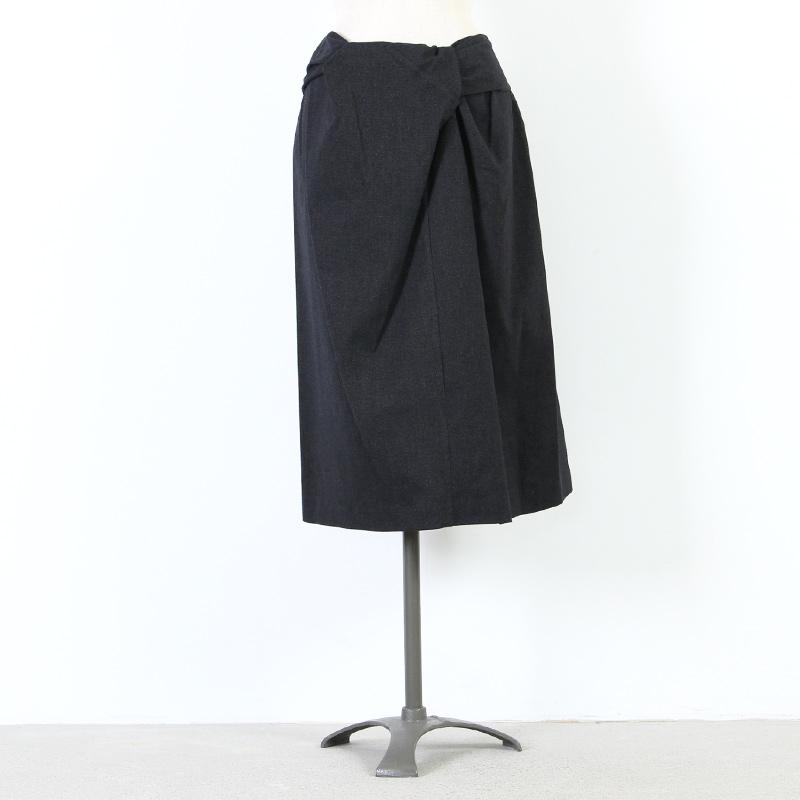 mizuiro ind(ミズイロインド) ラップスカート