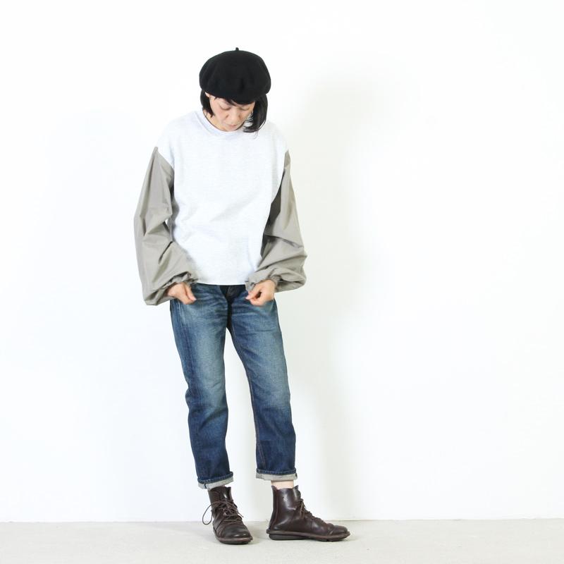 mizuiro ind(ミズイロインド) 4/5レングスデニム