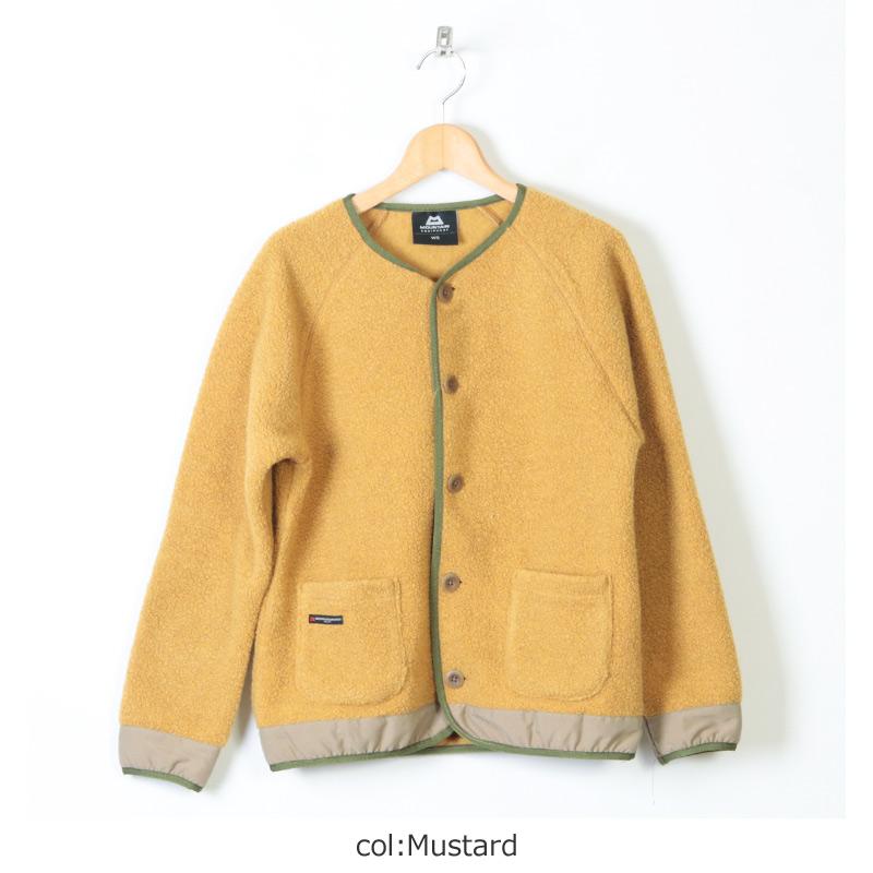 MOUNTAIN EQUIPMENT(マウンテンイクイップメント) Wool Boa Cardigan