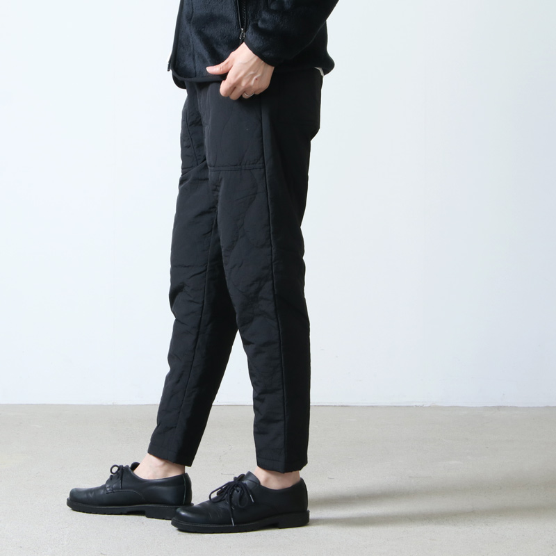 MOUNTAIN EQUIPMENT(マウンテンイクイップメント) QUILTED FATIGUE PANTS #WOMEN