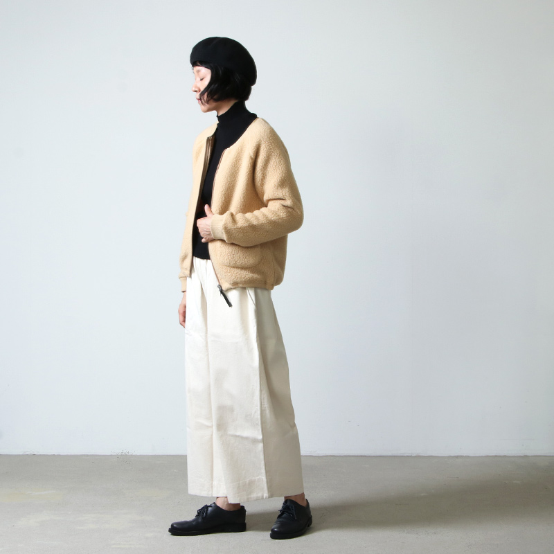 MOUNTAIN EQUIPMENT(マウンテンイクイップメント) PILE FLEECE RIB CARDIGAN