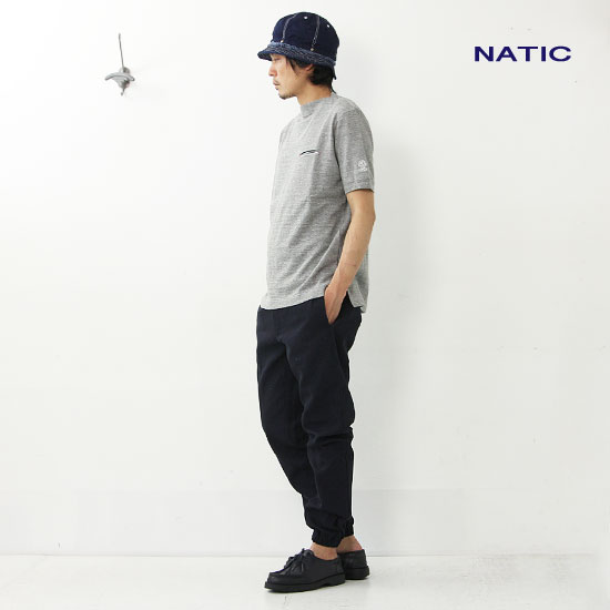 NATIC(ナティック) ミニ裏毛半袖プルオーバー
