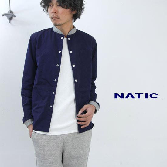NATIC(ナティック) ポリエステルウェザーシャツブルゾン