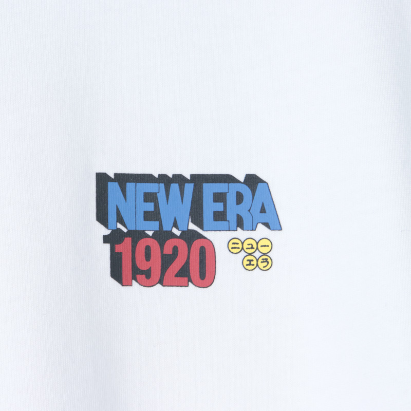 NEW ERA(ニューエラ) SS COTTON TEE DRAGON BALL NE1920 BP WHI
