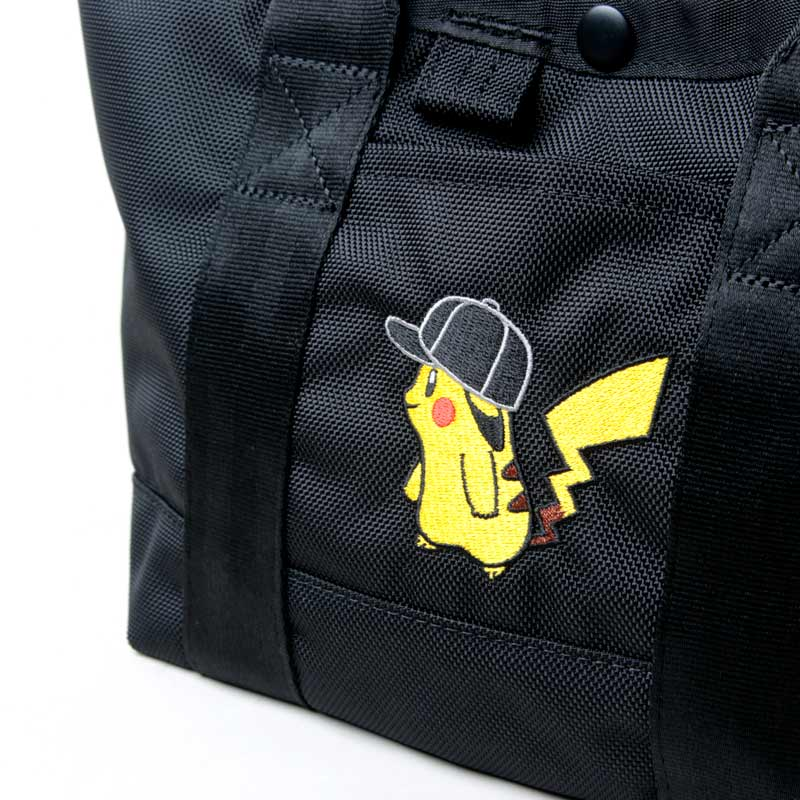 NEW ERA(ニューエラ) TOTE BAG M POKEMON CAP PIKACHU BLK