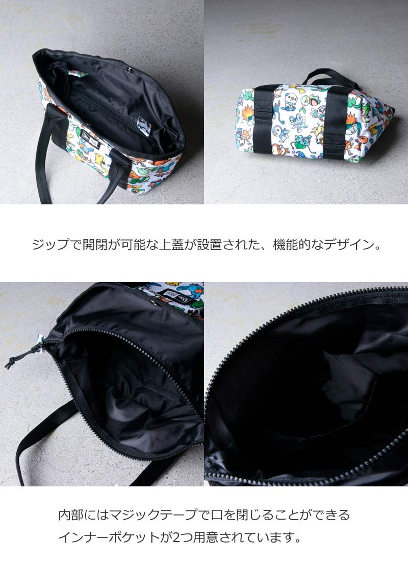 NEW ERA(ニューエラ) TOTE BAG M POKEMON MONSTER AOP