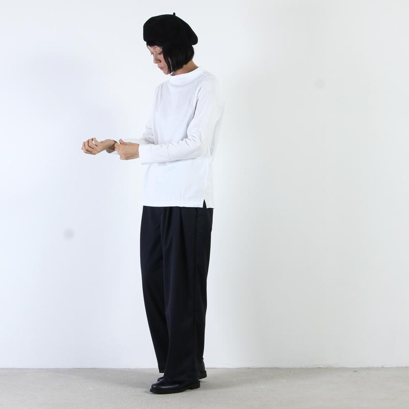 nisica(ニシカ) ガンジーネックカットソー