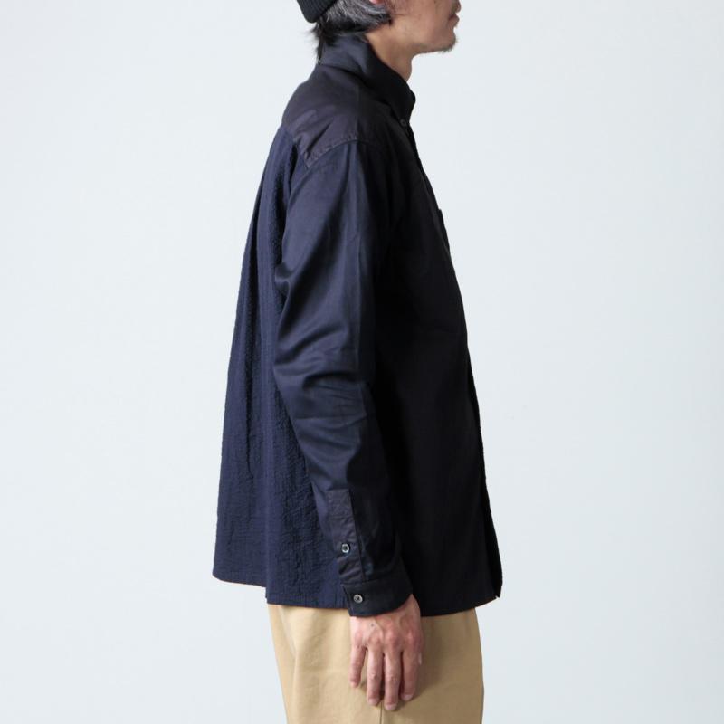 nisica(ニシカ) クレイジーパターンシャツ