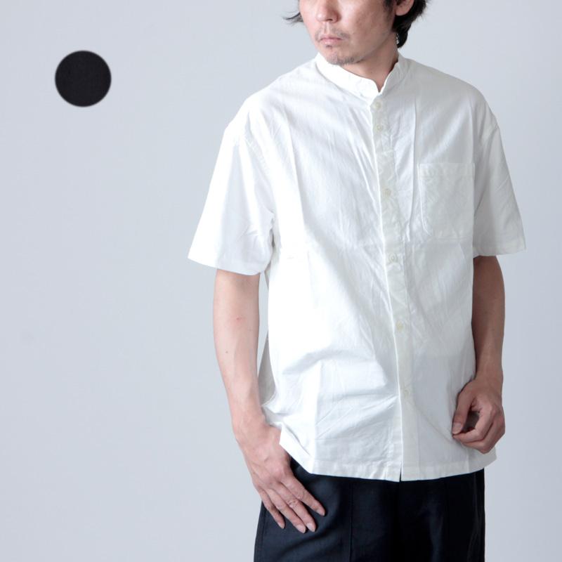 nisica (ニシカ) バンドカラーシャツ