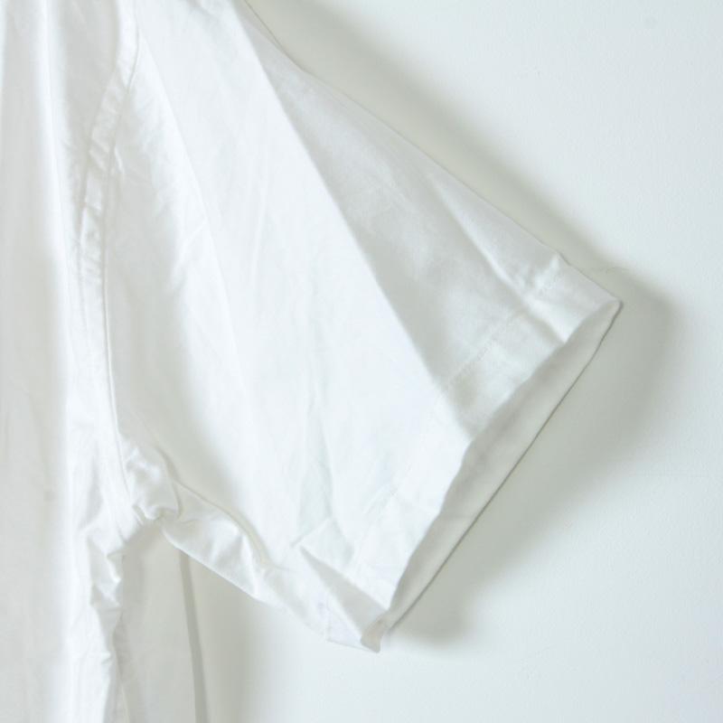 nisica(ニシカ) バンドカラーシャツ