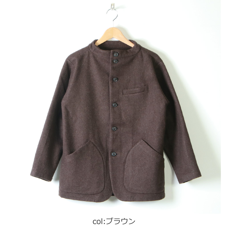 nisica(ニシカ) ガンジージャケット ウール