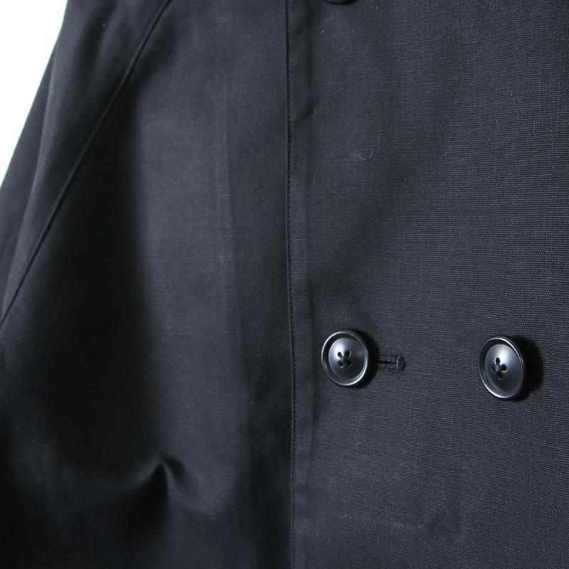 nisica(ニシカ) ダブルボタンコート コットン
