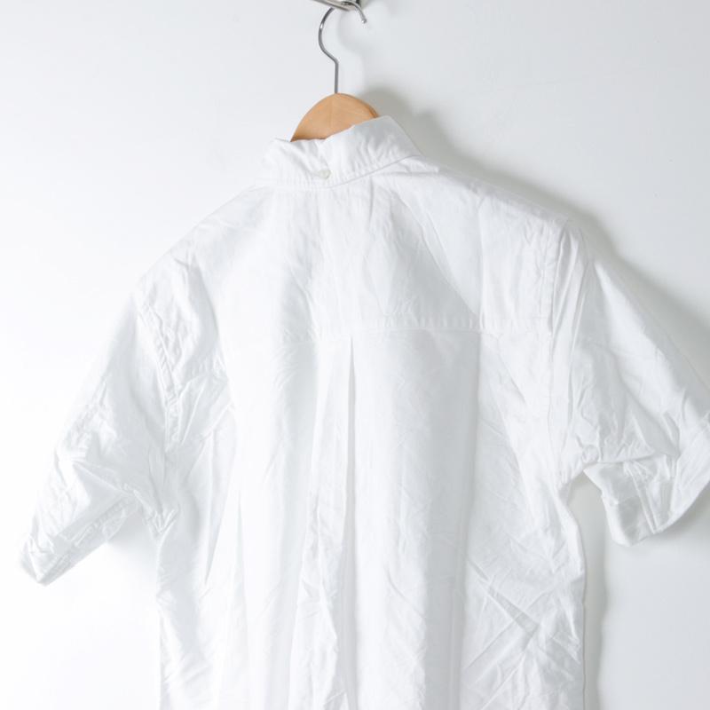 nisica(ニシカ) 半袖ボタンダウンシャツ