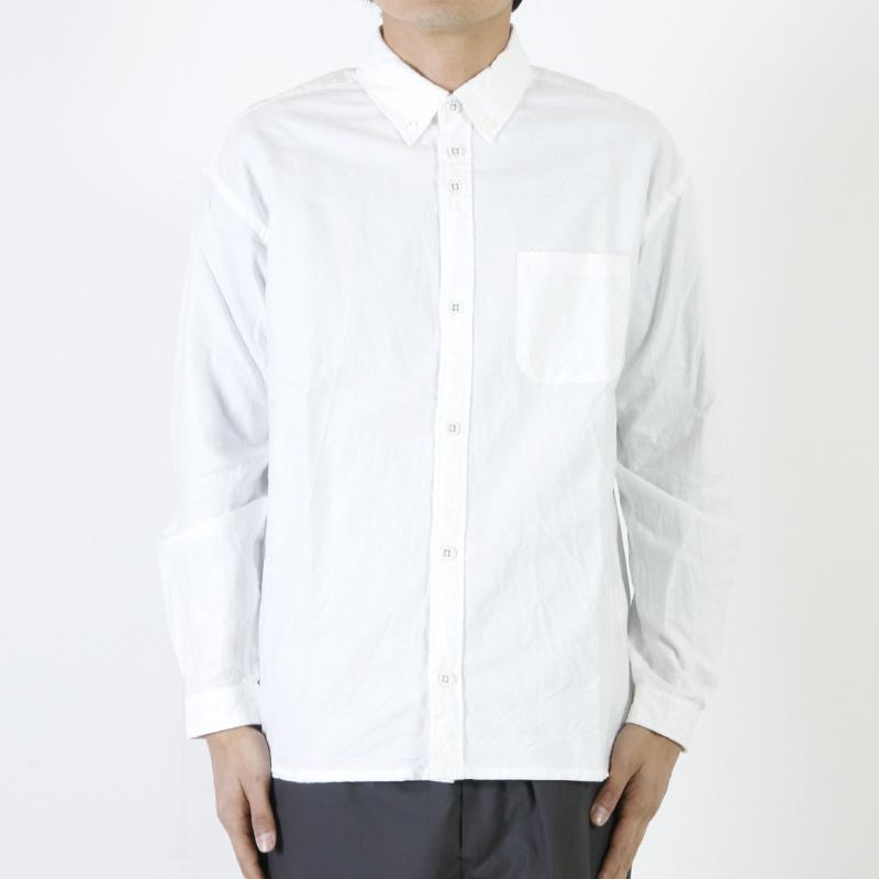 nisica(ニシカ) ルーズフィットボタンダウンシャツ