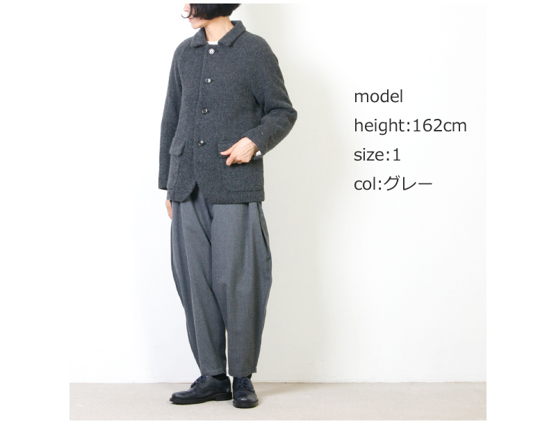 nisica(ニシカ) ウールジャケット