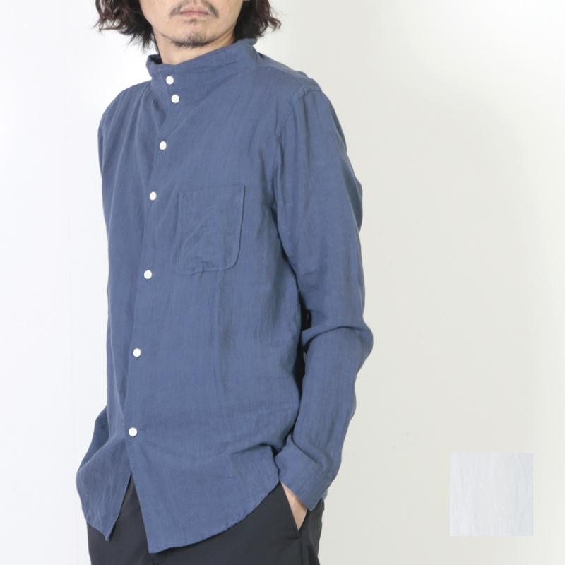 nisica (ニシカ) リネンガンジーシャツ