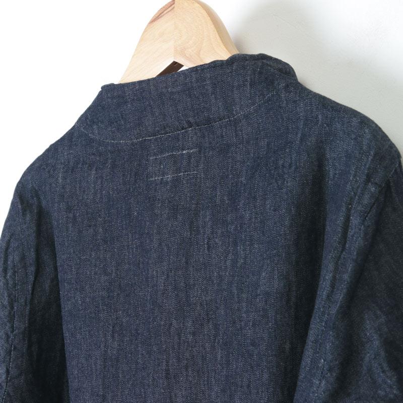 nisica(ニシカ) デニムガンジーシャツ