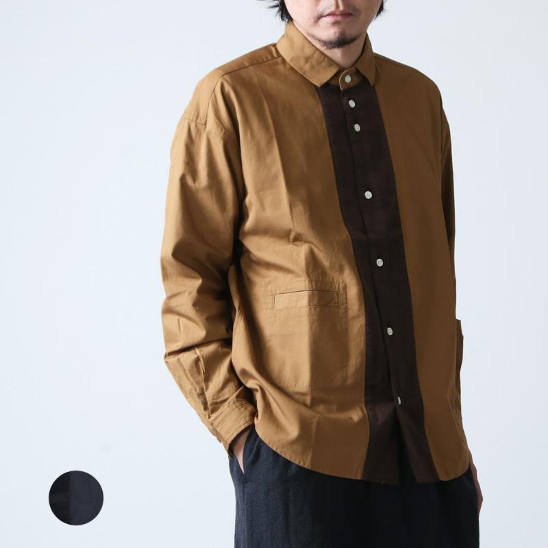 nisica (ニシカ) 切り替えシャツ