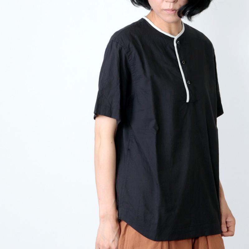 nisica(ニシカ) ohh!nisica ヘンリーネックシャツ