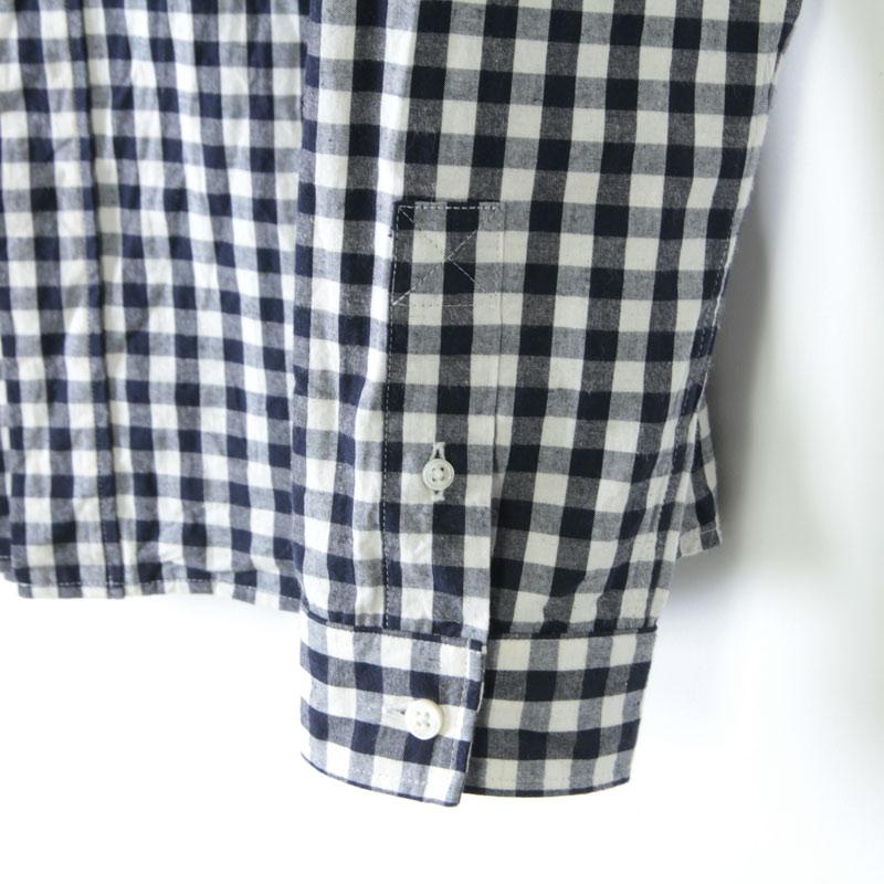 nisica(ニシカ) 別注ギンガムチェックボタンダウンシャツ