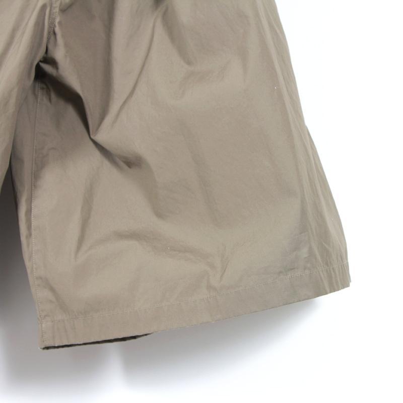 NO CONTROL AIR(ノーコントロールエアー) スーピマコットン ドライウェザークロスキュロットスカート
