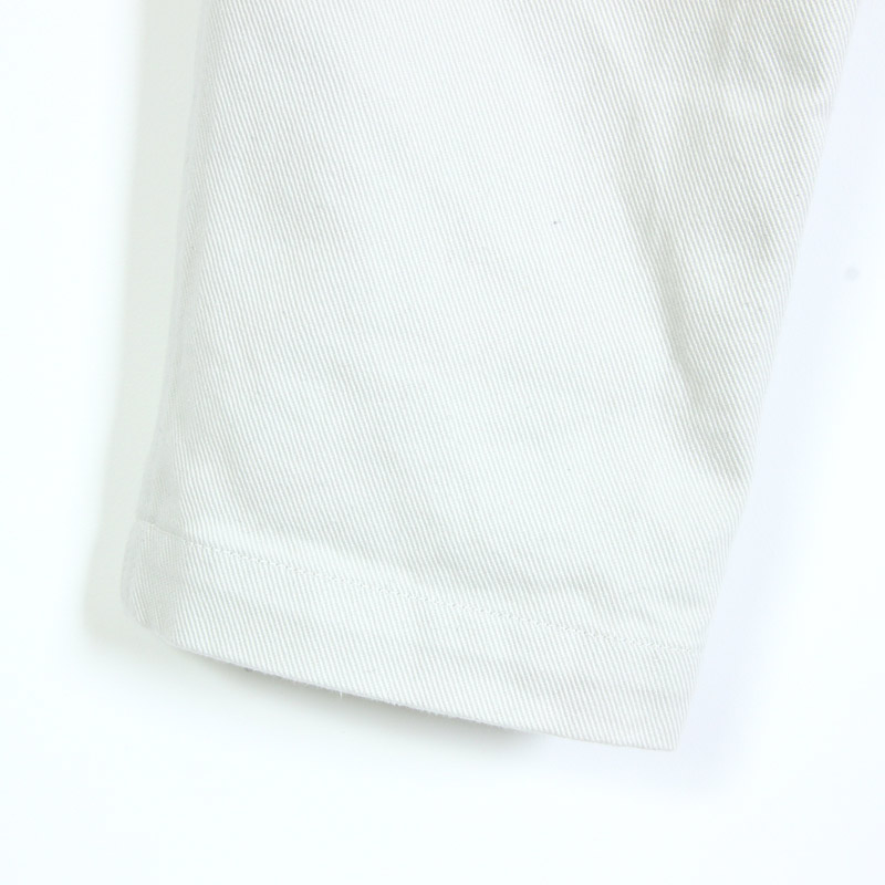 NO CONTROL AIR(ノーコントロールエアー) FIRMUM アメリカンコットン ハイカウントカツラギ テーパードパンツ