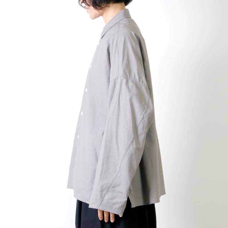 NO CONTROL AIR(ノーコントロールエアー) ラフコットンシーチング オーバーシャツ