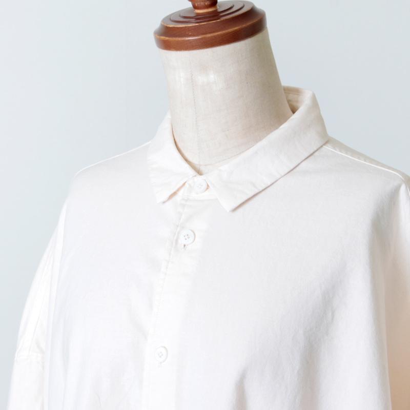 NO CONTROL AIR(ノーコントロールエアー) ラフコットンシーチングオーバーシャツ