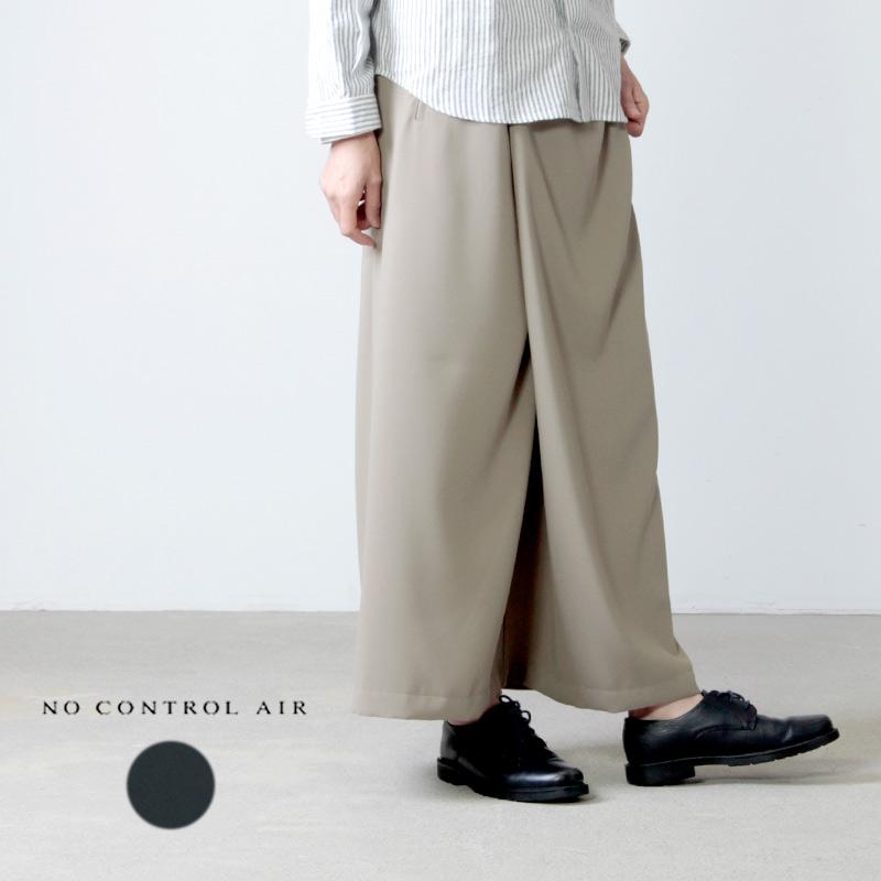 NO CONTROL AIR (ノーコントロールエアー) 強撚ポリエステル経二重織ラップスカート