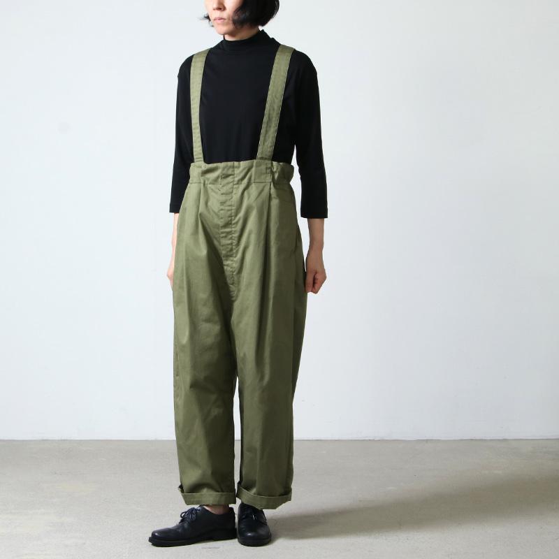 NO CONTROL AIR(ノーコントロールエアー) 16/ ムラ綿糸サテンサスペンダーパンツ