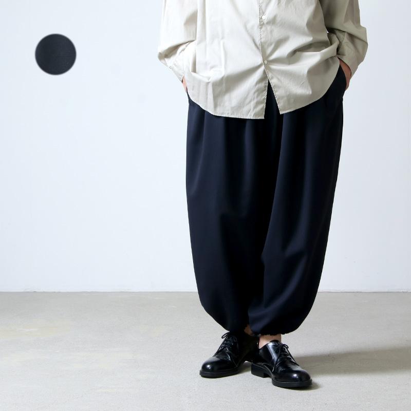 NO CONTROL AIR (ノーコントロールエアー) 四子撚りウール アラジンパンツ