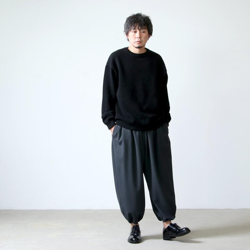 NO CONTROL AIR(ノーコントロールエアー) 四子撚りウール アラジンパンツ