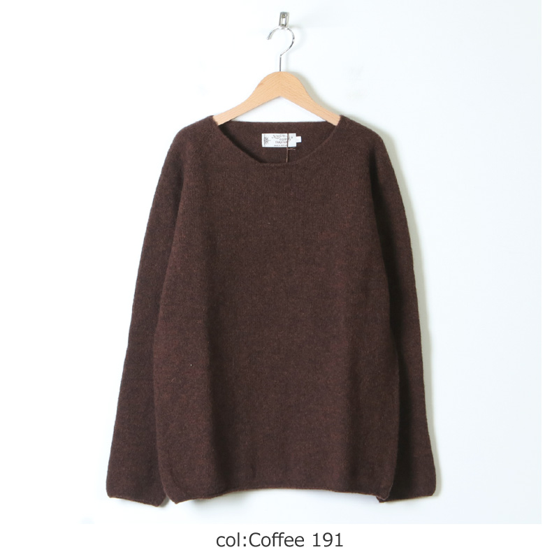 NOR'EASTERLY(ノア イースターリー) L/S WIDE NECK